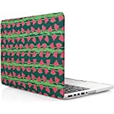 iDOO Matte Rubber Coated Soft Touch Plastic Hard Case for MacBook Pro 13 inch Retina without CD Drive Model A1425 and A1502 Watermelon
