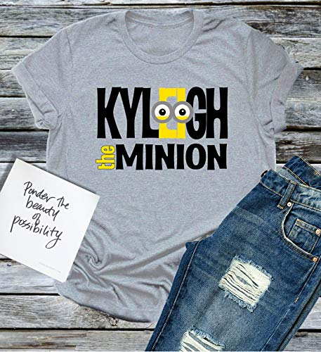 Minion Family Personalized Shirt with Name Vacation Universal Theme Park T-shirt Boy Girl Baby Reunion Party Studios Despicable Gru Mom Dad Kid Tee -