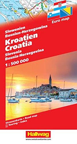 Slovenia / Croatia / Bosnia-Herzegovina 2017 (German, English, French and Italian Edition)...