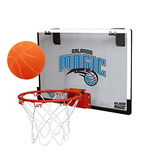 fan products of NBA Orlando Magic Game On Indoor Basketball Hoop & Ball Set, Large, Blue