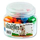 Premier Stationery Emotionery Paw Print Pencil Sharpener - Assorted Colours (Pack of 50)