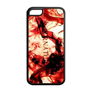 meilinF0005C Phone Cases, Supernatural Hard TPU Rubber Cover Case for iphone 5/5smeilinF000