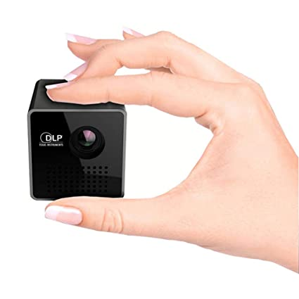 JXFS Mini Cube Home Cinema Proyector Portátil Smart LED Vídeo ...