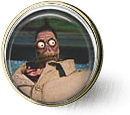 Amazon Com Beetlejuice Shrunken Head Guy Brooch Home Kitchen