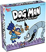 Dog Man Board Game Attack of The Fleas (Fuzzy Little Evil Animal Squad) by University Games Based On The Popul