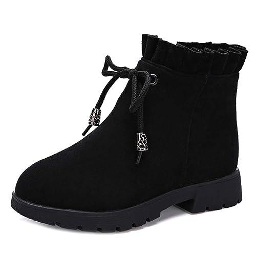 Lydee Moda Niños Cremallera Zapatos Dulce Botines For Chicas: Amazon.es: Zapatos y complementos