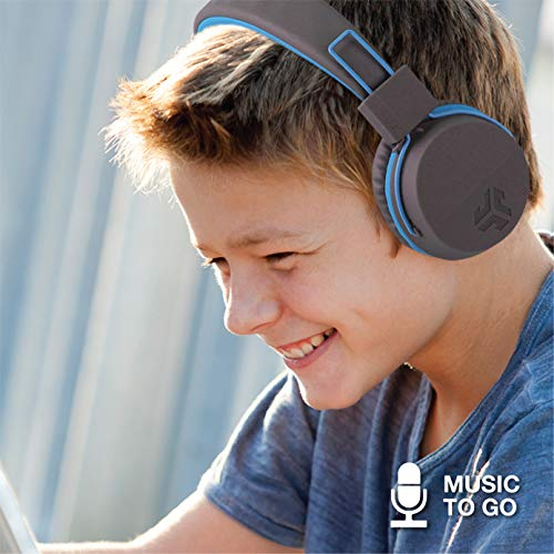 c96efb0672b JLab Audio JBuddies Over-Ear Kids Wired Headphones | Toddler Headphones |  Kid Safe | Studio Volume Safe | Volume Limiter | Folding | Adjustable |  Noise ...