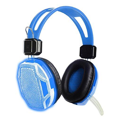 Zipper earphone Super Bass in-ear (blue) - 5