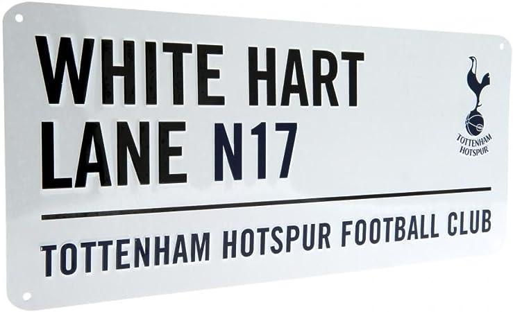 street style METAL SIGN Tottenham football gift WHITE HART LANE london road