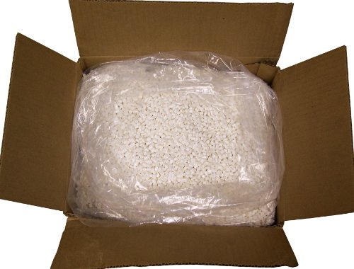 Hot Melt Glue Pellets (Milky White) for Book Binding (Spine Glue), 40lb package by GlueNTape