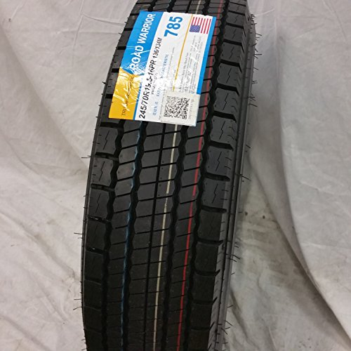 6-TIRES-24570R195-H16-NEW-ROAD-WARRIOR-ALL-POSITIONS-TIRES-16-PLY-24570195