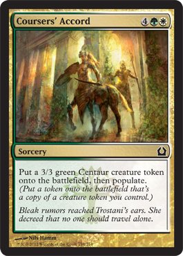 Magic: the Gathering - Coursers' Accord (154) - Return to Ravnica