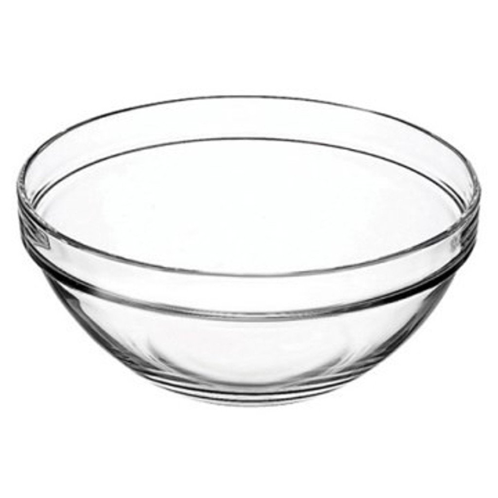 Vicrila 4 Liter Bake and Serve 10'' x 4.5'' Glass Bowl! Dishwasher Safe - Oven Safe - Microwave Safe - BPA FREE! Large Elegant 4 Liter Baking Glass Bowl! (1)