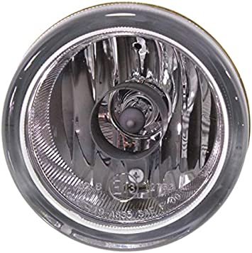 Clear Lens Fog Light For 2007-12 Suzuki SX4 LH Plastic Lens w// Bulb