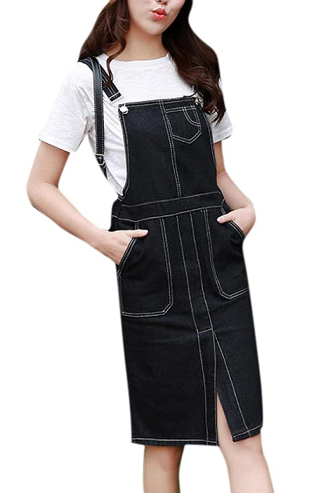 Think, that High waist suspenders pencil skirt
