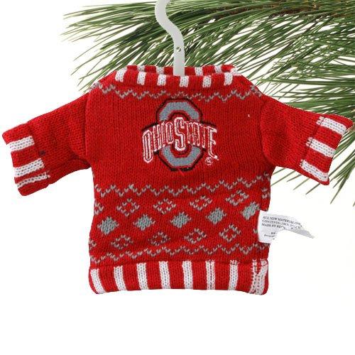 NCAA Knit Sweater Ornament - Arkansas NCAA Team: Ohio ()