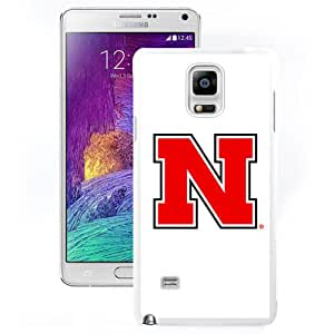 Fashion And Unique Samsung Galaxy Note 4 Cover Case Ncaa Big Ten Conference Football Nebraska Cornhuskers 2 Protective Cell Phone Hardshell Cover Case For Samsung Galaxy Note 4 N910A N910T N910P N910V N910R4 White Phone Case
