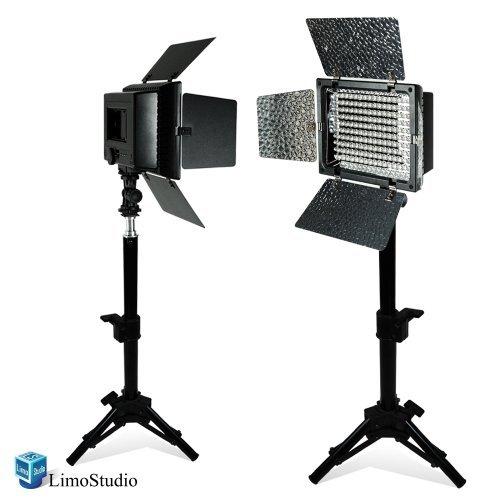 Studio Lighting Reviews: LimoStudio 2PC LED 160 Photographic Lighting Kit, Photo