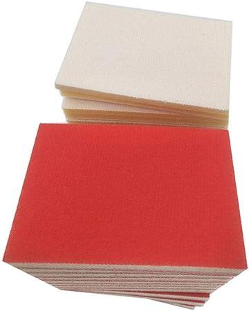 random 1800-2000 granularity Refaxi Wet Dry Polishing Sanding Sponge Sandpaper Block Pad Mixed Assorted Grit