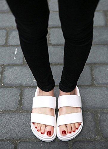 antiscivolo parola bianca pantofole da da sandali degli da estate uomini uomini marea trascinare scarpe Pantofole spiaggia usura degli uomo spessa uomo con WFL da suola uomo wxU64nPq