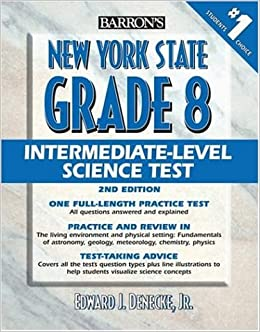 Barron's New York State Grade 8 Intermediate Level Science
