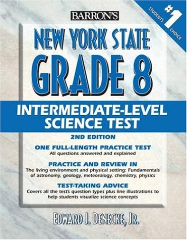 Barron's New York State Grade 8 Intermediate Level Science Test
