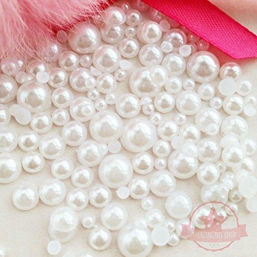 resin pearl cabochons - 7