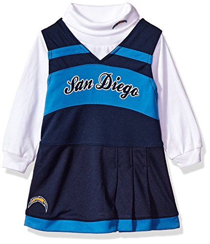 San Diego Chargers Cheerleader Costume: Los Angeles Chargers Baby Cheerleader Outfit Price Compare