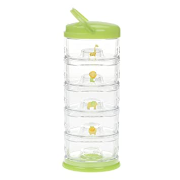 Innobaby Packinu0027 Smart Stackable And Portable Storage System For Formula,  Baby Snacks And More