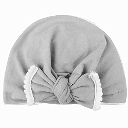 YMCHE Sombrero de Hospital para recién Nacido, Gorro de Punto para ...