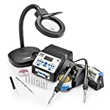 X-TRONIC 8010-XTS - ''DUAL'' Antistatic Digital Soldering Station