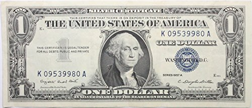 1957 Series A Silver Certificate in Very Good Condition