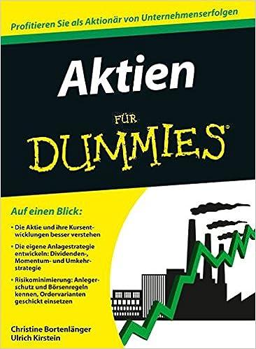 Aktien Für Dummies Bortenlänger Christine Kirstein Ulrich Bücher