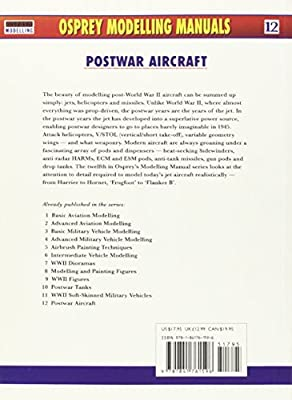Postwar Aircraft (Osprey Modelling Manuals 12)