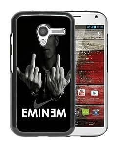 Eminem Black Recommended Customized Design Motorola Moto X Case