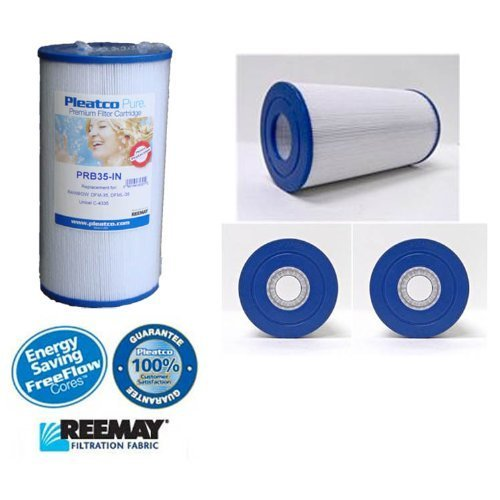 Happy Hot Tubs 2 X PLEATCO PRB35-IN FILTER BEACHCOMBER / CANADIAN / HYDROSPA / C-4335 HOT TUB