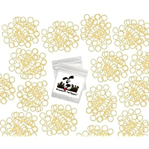 Downtown Pet Supply Orthodontic Elastics Rubber Bands Great for Dog Grooming Top Knots, Bows, Braids, and Dreadlocks 71