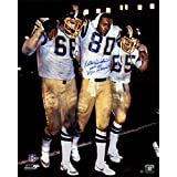 "Kellen Winslow Signed San Diego Chargers 16x20 Photo vs Miami inscribed Epic in Miami HOF 95"" Insc."