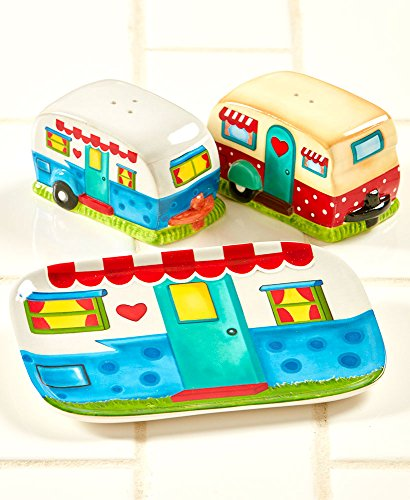 The Lakeside Collection 3-Pc. Happy Camper Counter Set