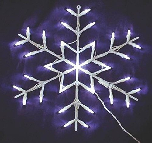 Decor Window 16in Snowflake 2d
