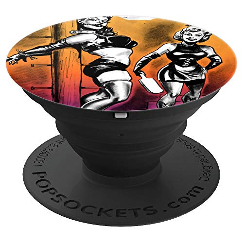 Retro Bondage Roleplay Lingerie Sexy Pinups BDSM PopSockets Grip and Stand for Phones and Tablets