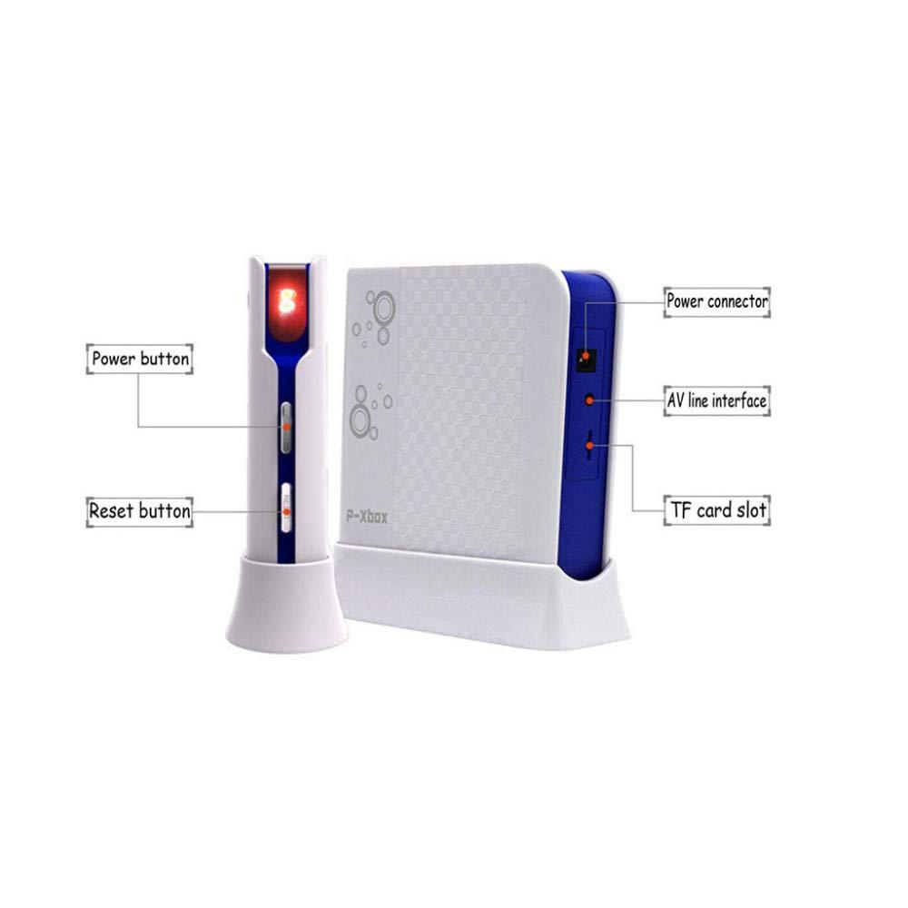 QXMEI Wireless Dance Mat Double Body Massage Light Thickening Dual Purpose,Blue by QXMEI (Image #6)