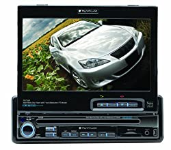 Planet Audio P9750 7-inch Single-din In-dash Receiver With Motorized Flip-out Widescreen Touchscreen Monitor