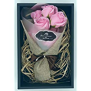 Aylinn Luxury Soap Flower Rose Bouquet- Real Rose Smell-Best Gift for Mother's Days-Valentine's Day -Birthdays 31