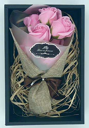 Aylinn Luxury SOAP Flowers Rose Bouquet-Real Rose Smell-Best Gift for Valentine'S Day Mother'S Day Birthday Gift