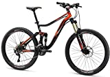 Mongoose Men's Teocali Comp Bike with 27.5″ Wheel, Black, 20″ Frame/Large