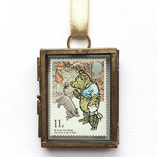 Winnie the Pooh Framed Postage Stamp - Print Framed Stamp