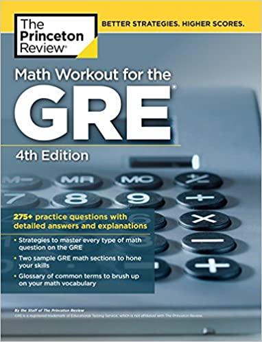 Math workout for the gre 4th edition 275 practice questions with math workout for the gre 4th edition 275 practice questions with detailed answers and explanations graduate school test preparation workbook edition fandeluxe Choice Image