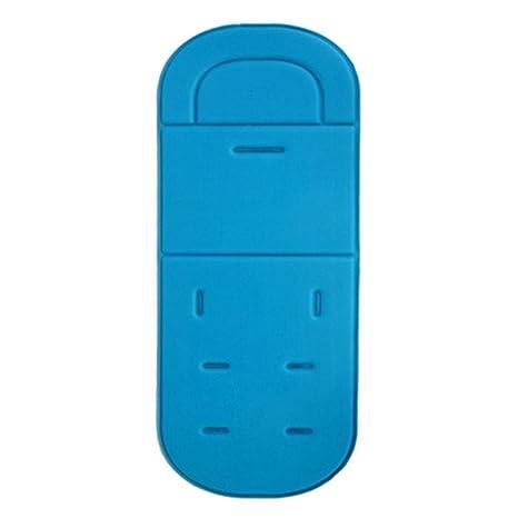 Alfombrilla de cojín para cochecito de bebé, universal, para cochecito de bebé azul celeste Talla:34 * 80 cm/13.39 * 31.50 inch: Amazon.es: Bebé