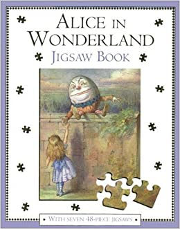 Image result for alice in wonderland jigsaw book